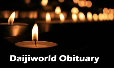 Daijiworld Obituary Updated 2020